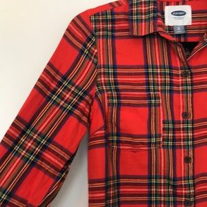 Old Navy Tops - Old navy plaid button down
